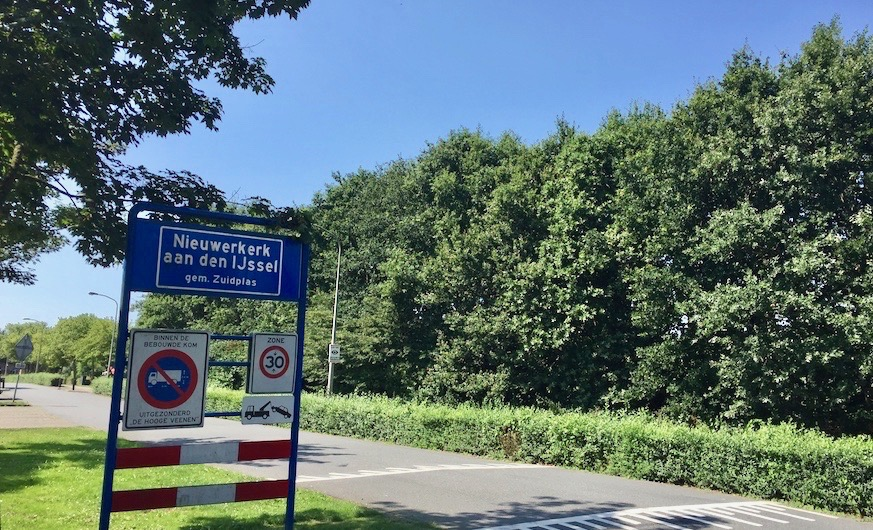 Bomen kappen Nieuwerkerk aan den IJssel